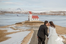 Iceland Church Wedding