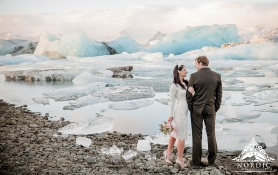 Iceland Wedding Glacier Lagoon