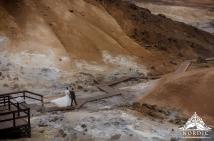 Iceland Wedding Seltun Geothermal Area