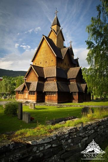 Norway Church Wedding Locations Wooden Church