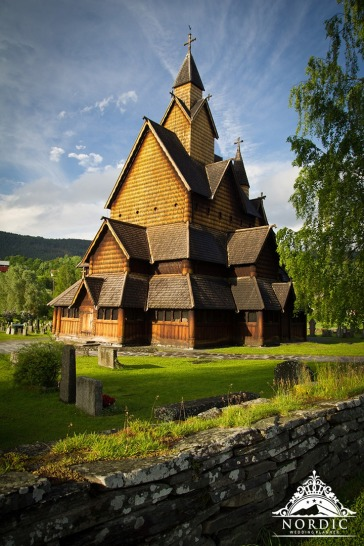 Norway Church Wedding Locations Wooden Church
