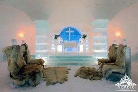 Norway Ice Church Wedding