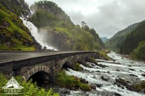 Norway Waterfall Weddings Nordic Wedding Planner